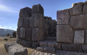 Click to view a panoramic image of Saqsaywaman