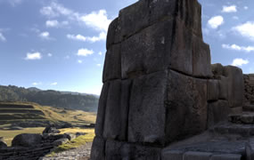 Click to view a panoramic image of Saqsaywaman View 3