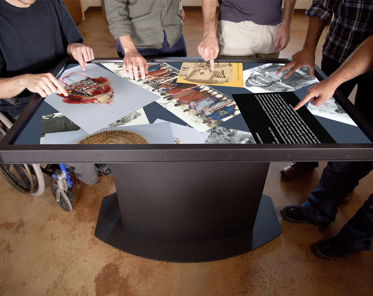 Image for the post: 'New Improved Specs + Options for the Pro Multitouch Table'