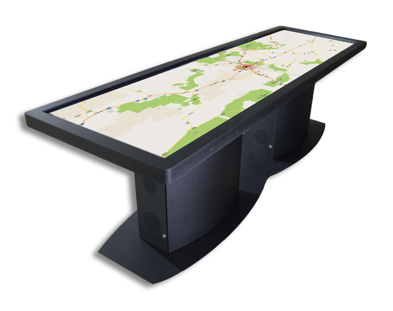 Image for the post: 'Pano 100″ Multitouch Table Featured in Gizmag'