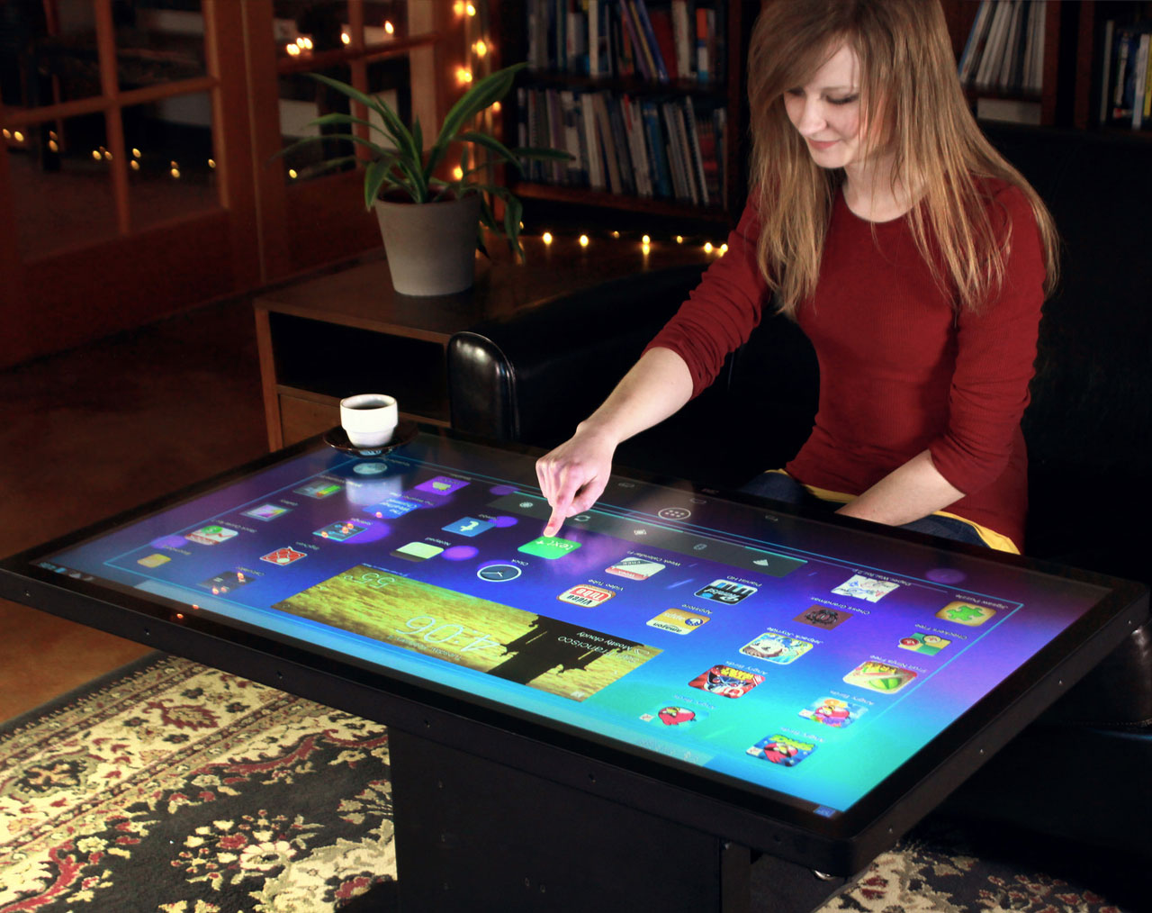 Multitouch Coffee Tables Now Shipping Ideum - Multitouch coffee table