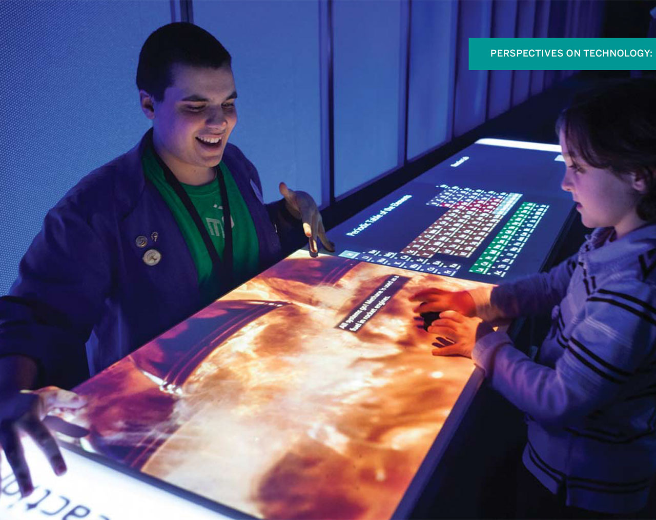 Image for the post: 'Human Computer Interaction & the Next Generation of Exhibits'