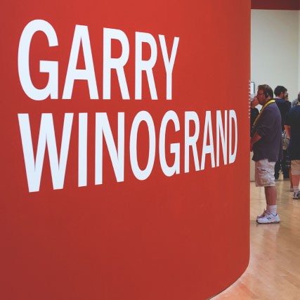 Garry Winogrand's films at SFMOMA