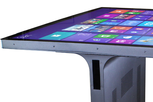 New 55″ 4K UHD Multitouch Tables (Video)