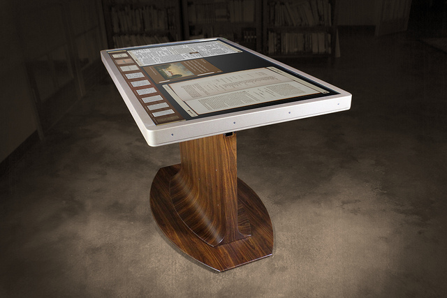 George Washington Multitouch Table