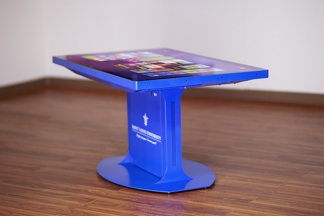 Image for the post: 'Custom Touch Tables & Touch Walls'