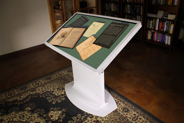 White Multitouch Drafting Table