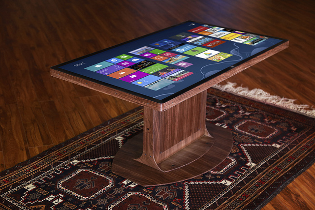 Wood Multitouch Coffee Table