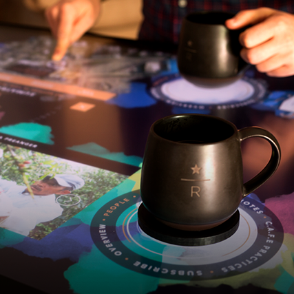 Image for the post: 'Interactive Coffee Traceability Prototype Experience'
