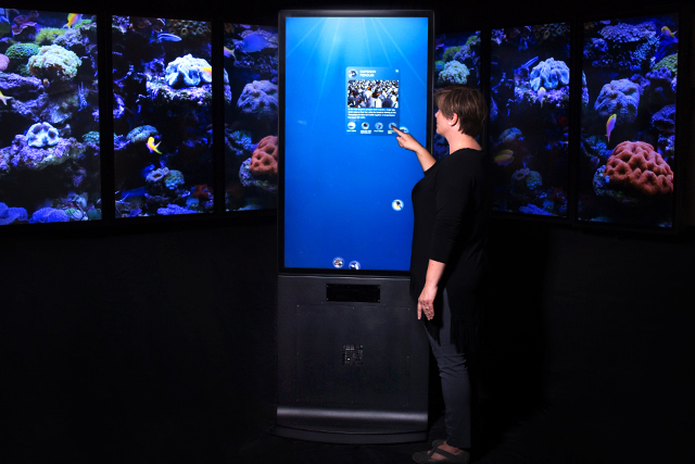 New Portrait Touch and Motion Kiosk
