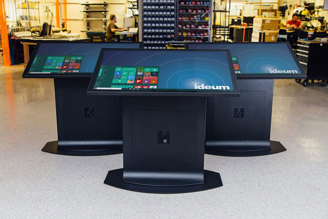 Redesigned Touch Tables & Displays in 2016