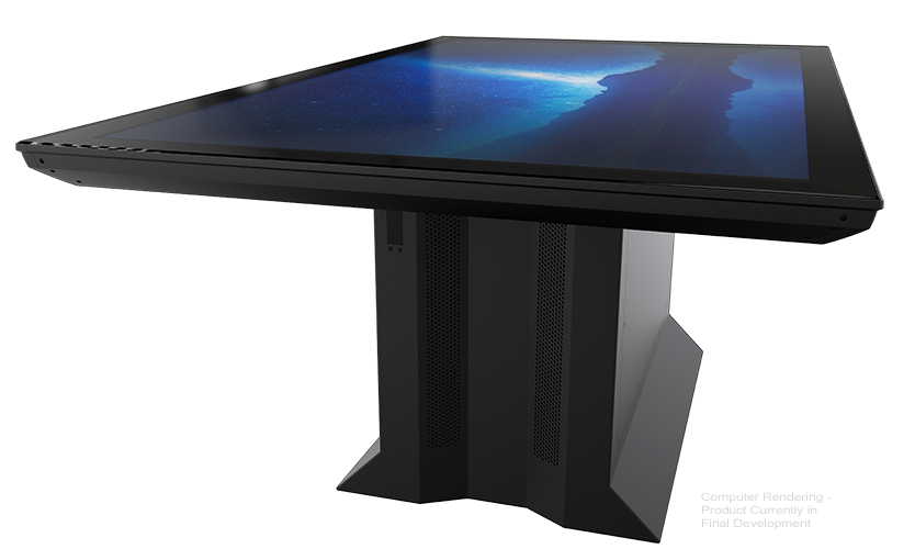 The Ideum Colossus Multitouch Table
