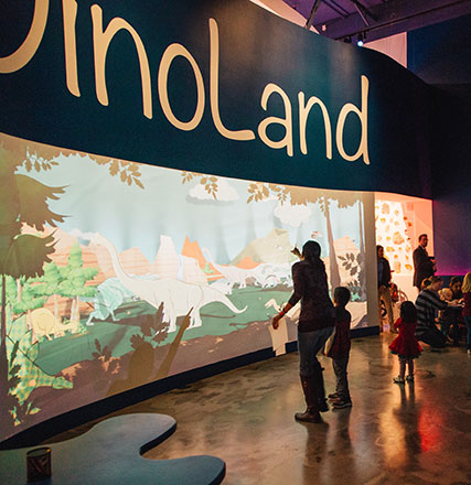 DinoLand Immersive Activity Exhibit