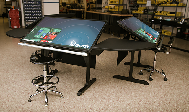 Image for the post: 'New Multitouch Desk Prototype'