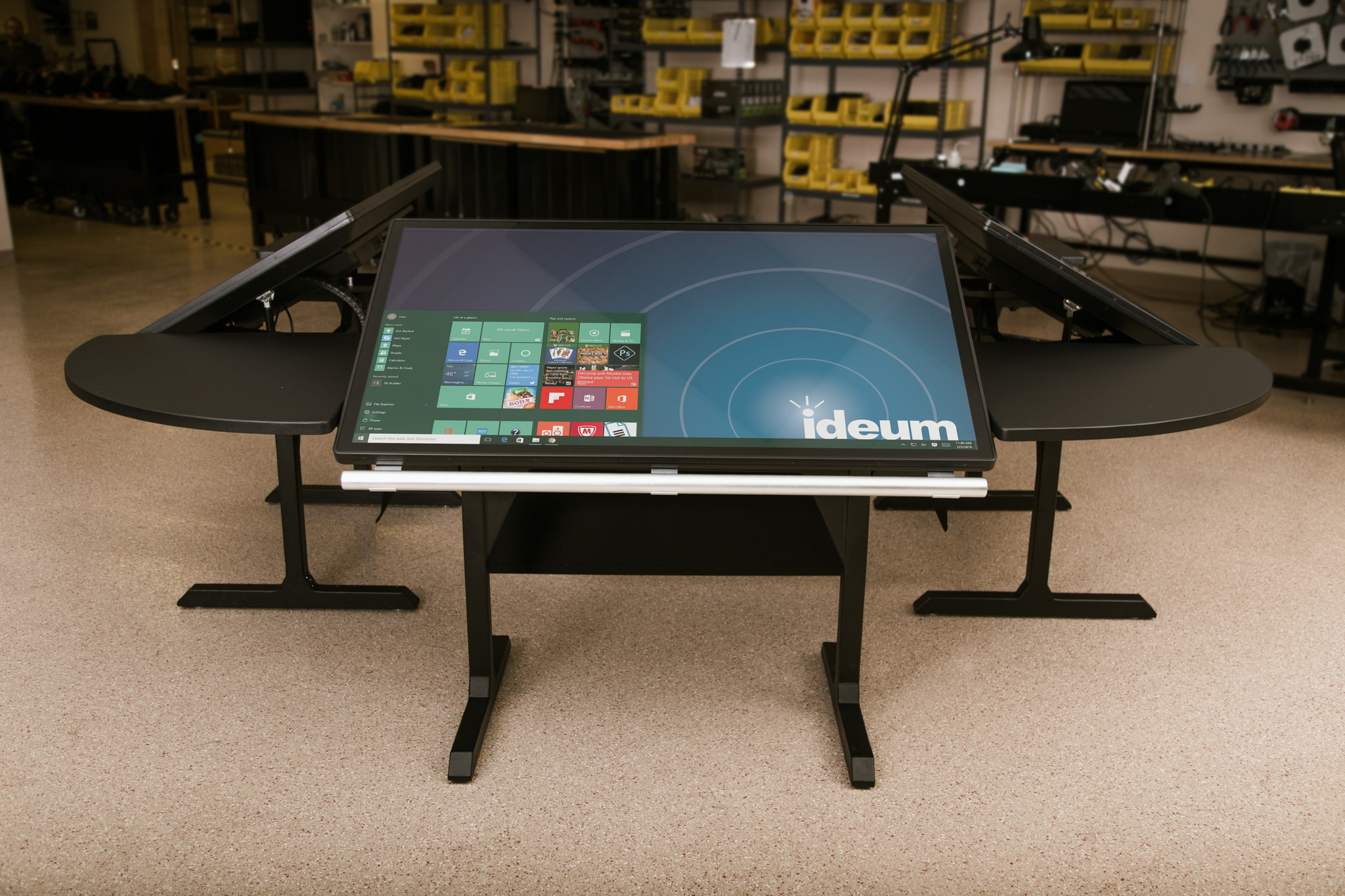 console-multitouch-table