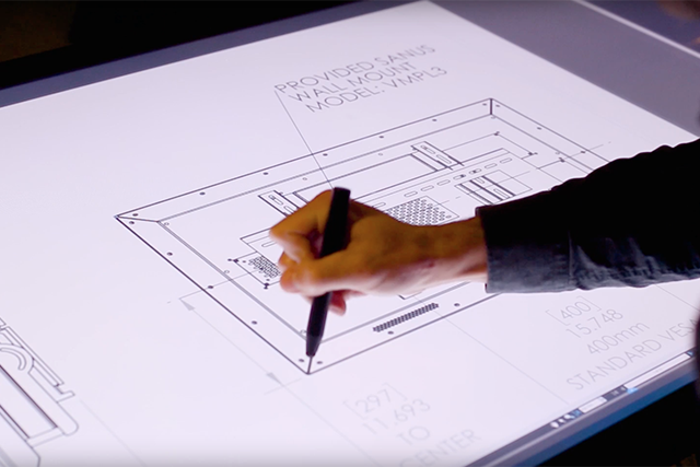 Bluebeam Revu on Ideum Drafting Multitouch Tables